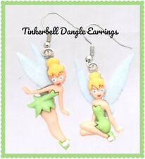 Dangle Earrings Christmas Holiday Nwt Disney Tinkerbell from Peter Pan Mismatch