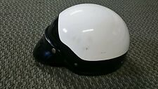 Vintage Marushin Open Face Helmet w/ Visor MZ-H