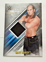 2019 Topps WWE Smackdown Live Matt Hardy Event Worn Shirt Relic Card #d 68/199