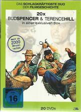 BUD SPENCER & TERENCE HILL Monsterbox mit neuen Filmen 20 DVD  NEU & OVP