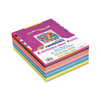 Pacon Rainbow Super Value Construction Paper Ream 45 lb 9 x 12 Assorted 500