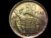 50 pesetas 1957 estrella 59 (A3)