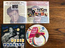 """ELVIS PRESLEY CD """" ROCK AND ROLL N° 3 """" promo"""