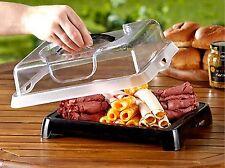 Picnic Cooling Buffet Platter Freezer Pack w/lid Cools approx 2 hrs 12x9x4 NIB