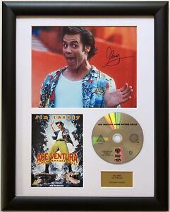 Jim Carrey / Ace Ventura / Signed Photo / Autograph / Framed / COA