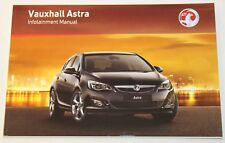 VAUXHALL ASTRA J CD500 DVD800 CD400 CD300 AUDIO CD SAT NAV NAVIGATION MANUAL