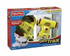 Geotrax Remote Control Bi Plane with Loopy Loco & Darren ~ The Most Daring Team