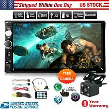 2 Din Head Unit w/ Backup Camera Touch Screen w/ Mirror Link Radio Audio for Car