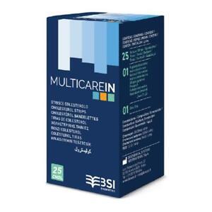 Multicare-In Cholesterol Test Strips (25 pk)