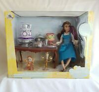 Disney Store Princess Belle Dinner Party Playset, Beauty and The Beast