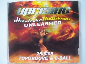 UPRISING VS UNLEASHED - 25.06.05 - TOPGROOVE & 8-BALL CD