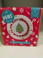 The Make Arcade -  Christmas Tree Cross Stitch Kit