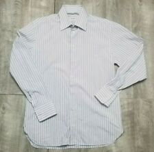 Armani Collezioni Mens Shirt Size 39 15.5 Dress Button Down Long Sleeve Top 1/2