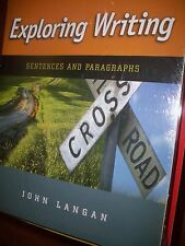 9780077406721 Exploring Writting Langan Sentences and Paragraphs Text Connect