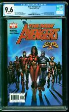New Avengers 7 CGC 9.6 NM+ 1st Illuminati Namor Doctor Strange Mister Fantastic