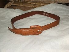 "NEW Ladies RETRO BROWN Belt 1  1/2  "" Wide, MADE IN USA  SIZE LARGE"