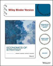 NEW Economics of Strategy, Binder Ready Version by David Dranove