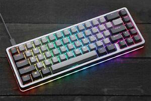 NEW Drop ALT Mechanical Gaming RGB Backlit Keyboard 65% PBT Keys Space Gray