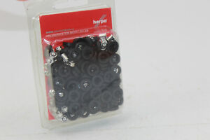 Herpa 083584 Chrome Rims+Tyres Without Axle For Truck Tractor 1:87 New+Boxed
