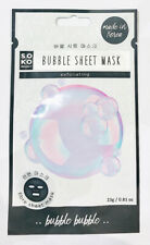 Soko Readyt Bubble Sheet Mask - Exfoliating (Choose Pack of 3, 6, or 9)