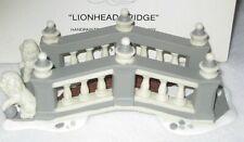 Lionhead Bridge Department 56 Dickens Village 1992 5864-5