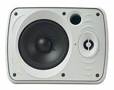 Dual 5.25'' Wall-Mount Marine Speakers, Waterproof with Bluetooth 800 Watt