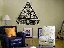 Wall Decal Vinyl Sticker Egypt Gods Pharaoh Pyramid Ra Eye Lords King Sun bo2577