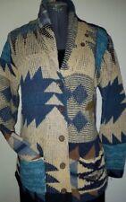Denim & Supply Ralph Lauren cardigan sweater M southwestern patchwork shawl