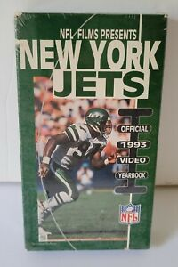 NFL Films Presents NEW York Jets Official 1993 Video Yearbook VHS NOS
