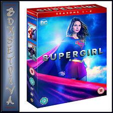 SUPERGIRL - COMPLETE SEASONS 1 & 2- DC SUPERGIRL *BRAND NEW DVD BOXSET***