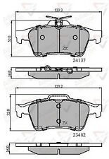 Allied Nippon Rear Brake Pad Set Fits Various Models AMH664