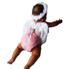 Baby Kids Photo Props Angel Fairy Feather Wing Costume Photo Prop
