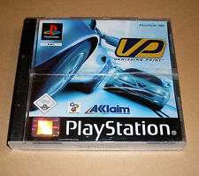 PLAYSTATION 1 gioco-Vanishing Point (VP) - tedesco completo corse ps1