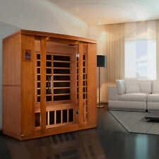 Dynamic Bellagio 3-person Low Emf Far Infrared Sauna @