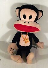 "14"" PAUL FRANK MONKEY SOFT TOY - GOLD CHAIN"