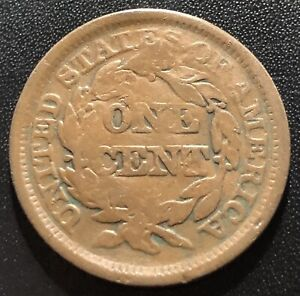 Canada (Devon & Bolton Counterstamp) on US 1848 Large Cent