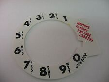 Martin's Furniture Rotary Phone Number Cover Vintage Advertising