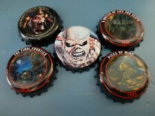 Lot de 5 capsules IRON MAIDEN TROOPER BEER