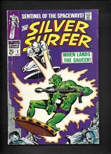 Silver Surfer 2 VG+ 4.5 Hi-Res Scans