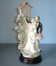 Giuseppe Armani WEDDING SHRINE Bride/Groom Figurine 0187C Fiori alla Madonna