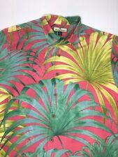 Men's Tommy Bahama Relax Silk Hawaiian Button Up Shirt •Size M *EUC