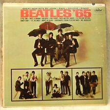"Beatles '65 vinyl 12"" LP Record Good Condition Mono 1960's 33 RPM Capitol Pop"