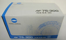 Minolta AF Zoom 75-300mm