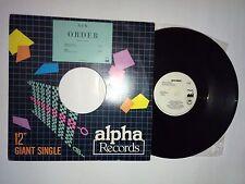 "NEW ORDER TRUE FAITH PHILIPPINES 12"" P/S ALPHA RECORDS FEP-89-7002 1989 GIANT"