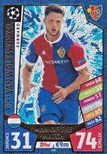 Ricky Van Wolfswinkel 17-18 Topps Champions League Match Attax,Man of the Match