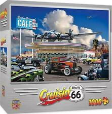 CRUISIN' ROUTE 66 JIGSAW PUZZLE BOMBER COMMAND CAFE DAN HATALA 1000 PCS #71735