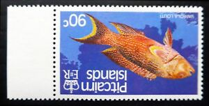 PITCAIRN ISLAND 1988 Fish 90c Inverted/WMK Error Variety SG312w U/M NC1837