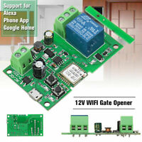 12V WIFI Gate Opener Support For Alexa and Google Home Support and Phone APP