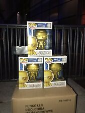 The Rock Funko Pop Exclusive Gold Wwe Smackdown Raw