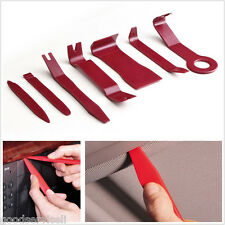 7 Pcs Plastic Car Interior Door Trim Panel Clip Audio Removal Pry Open Tool Kit